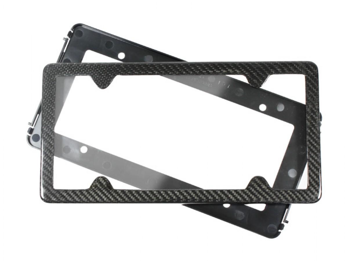 TagArmur Carbon Fiber License Plate Frame   ARKDAP