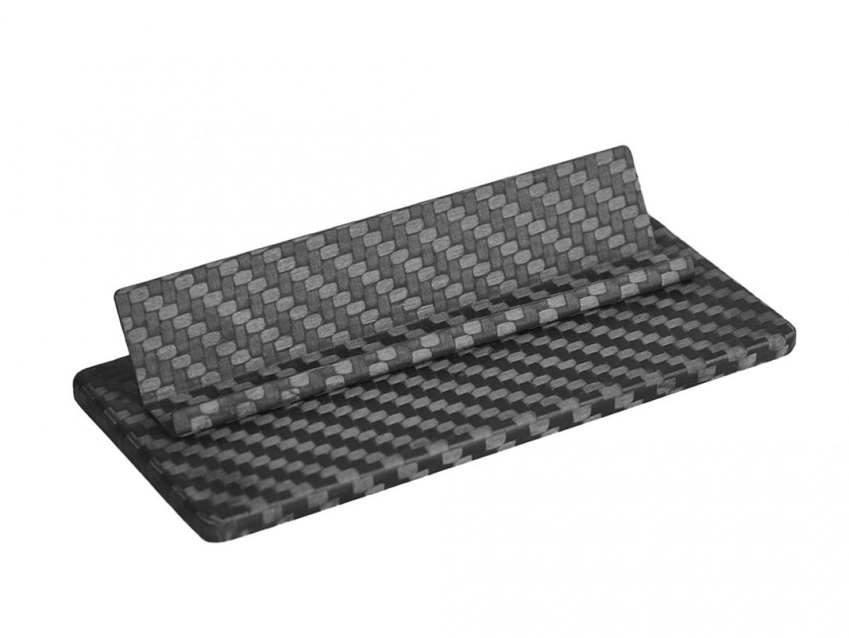 Carbon Touch Carbon Fiber Business Card Desk Stand | ARKDAP