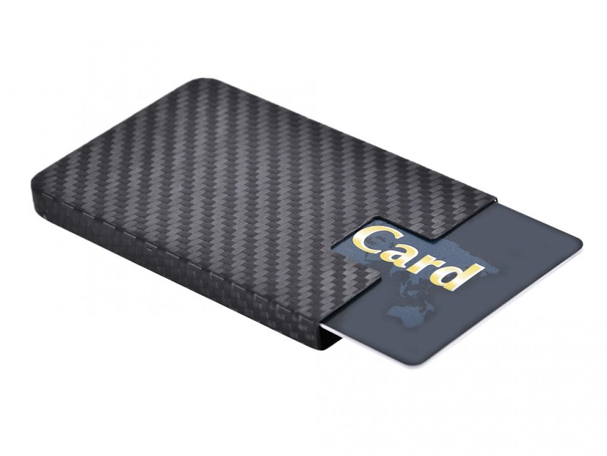 Carbon Touch Carbon Fiber Business Card Case