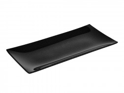 Dobreff Design Carbon Fiber Rectangle Plate - Small
