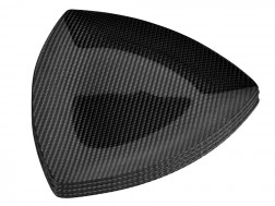 Dobreff Design Carbon Fiber Triangle Plate 4 Piece Set - Large