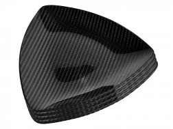 Dobreff Design Carbon Fiber Triangle Plate 4 Piece Set - Small