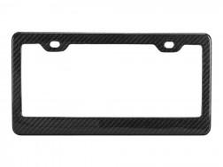 Standard Carbon Fiber License Plate Frame