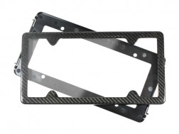 TagArmur Carbon Fiber License Plate Frame